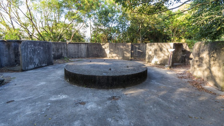 Pinewood Battery is a historic military site in Hong Kong