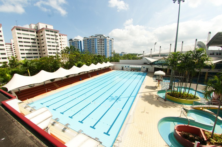 Singapore Choa Chu Kang Swimming Pool