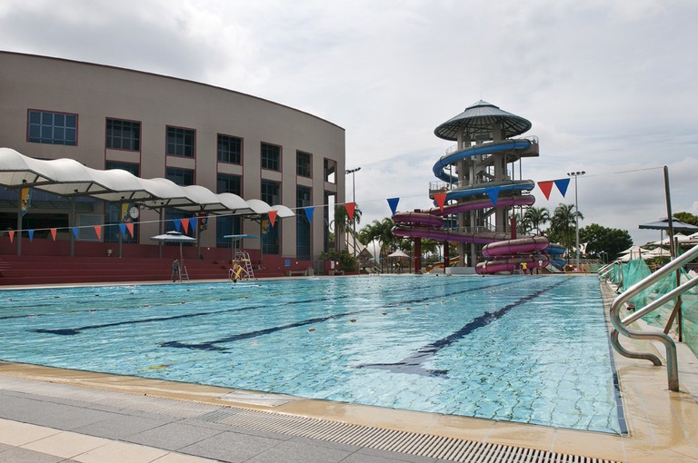 Singapore Jurong East Swimming Complex SportSG