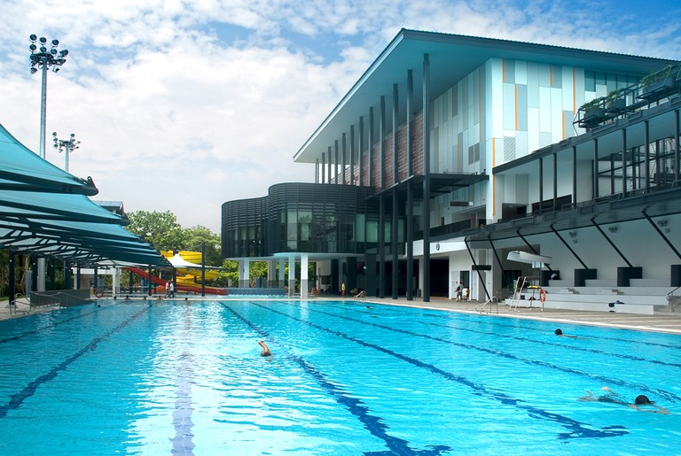 Singapore Pasir Ris Swimming Complex