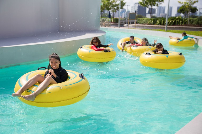 Singapore Sports Hub Splash N Surf Lazy River