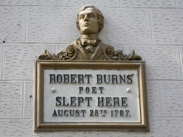 Robert Burns Plaque