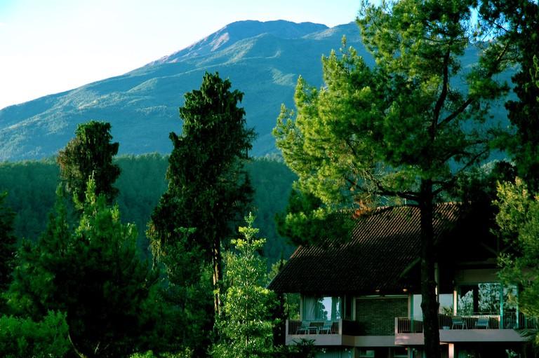 The beautiful Salatiga highland town