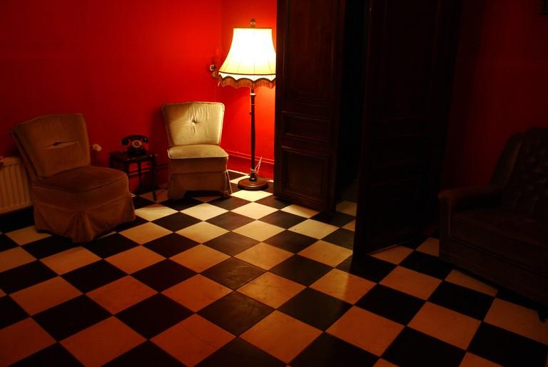 Interior of Madame Claude