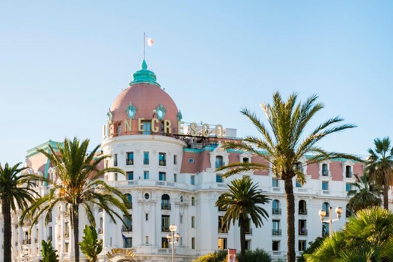 Historic Negresco Hotel, Nice, Alpes-Maritimes, Provence-Alpes-Cote d'Azur, France