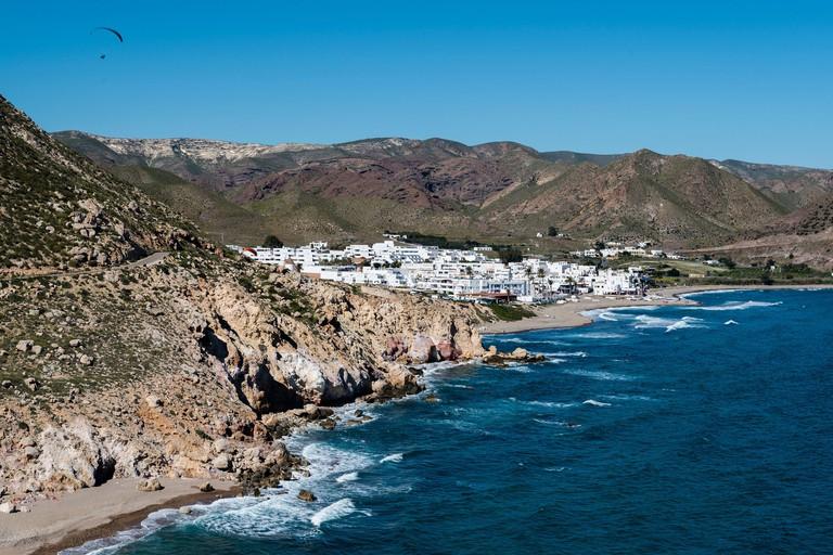 Las Negras town, Cabo de Gata, Almeria, Andalusia, Spain