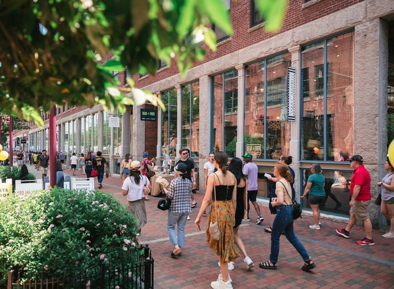 The SoWa Open Market takes place on Sundays between May and October