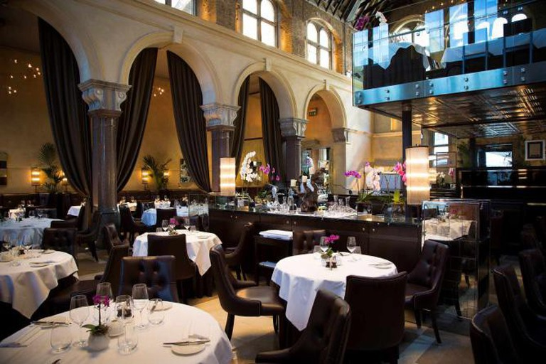 Galvin La Chapelle is housed in a former Victorian school and chapel