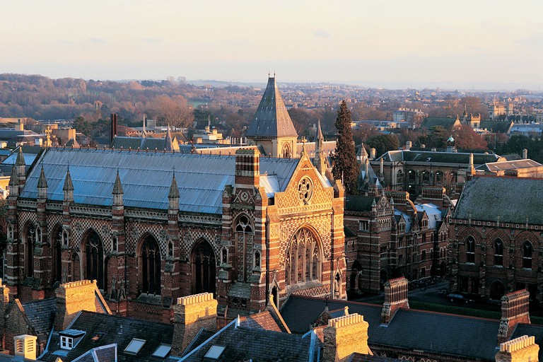 View of Keble College from Engineering Science Building, Oxford