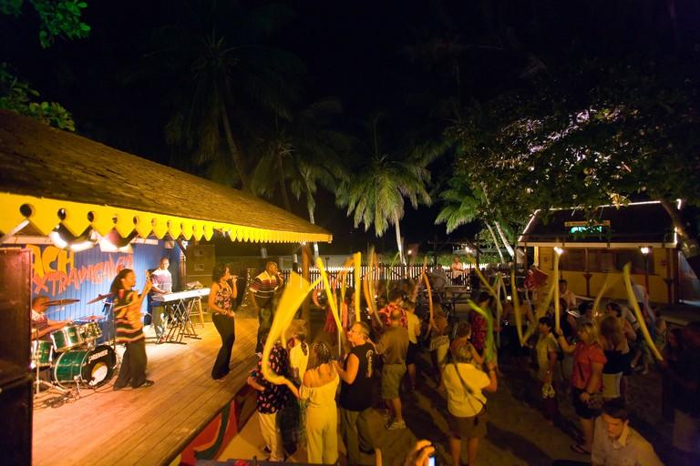 Dinner Show in Harbour Lights Club, Bridgetown, Barbados, Caribbean