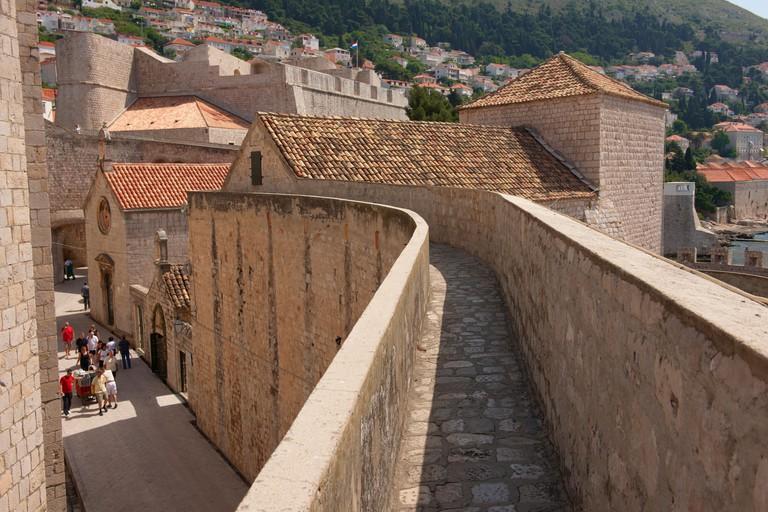 City walls of Dubrovnik - Croatia