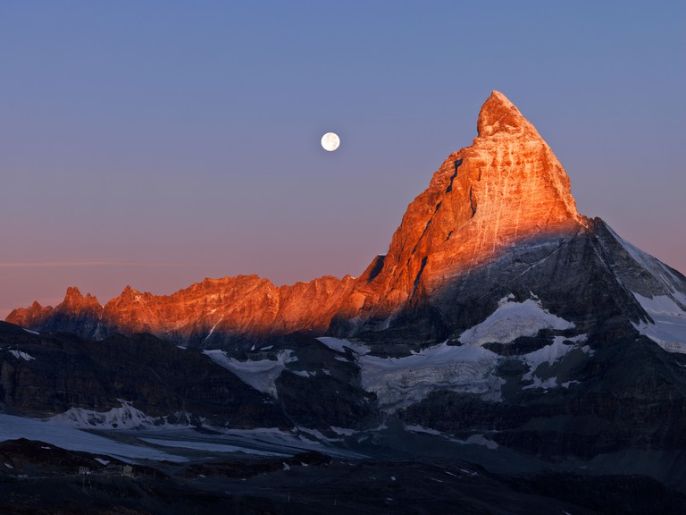 The Matterhorn attracts hikers all year round