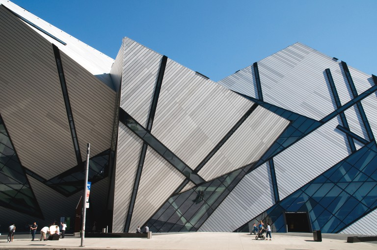 The Royal Ontario Museum and the Michael Lee Chin Crystal Modern addition.