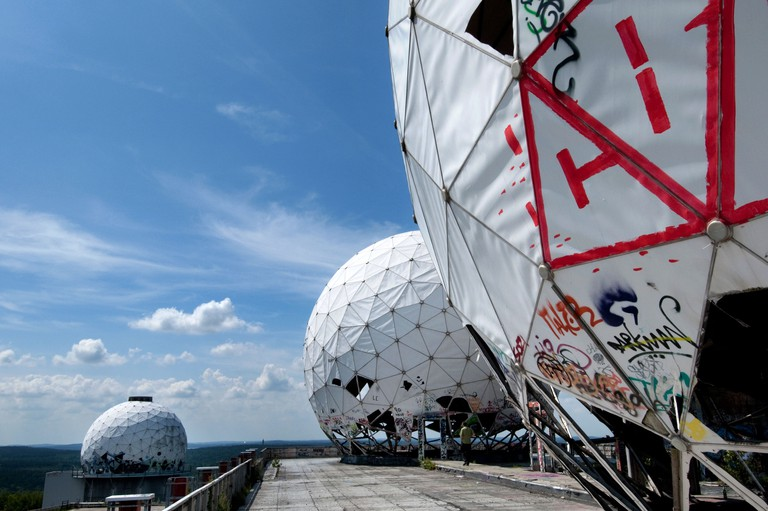 Teufelsberg is a former US listening station in Grunewald Forest
