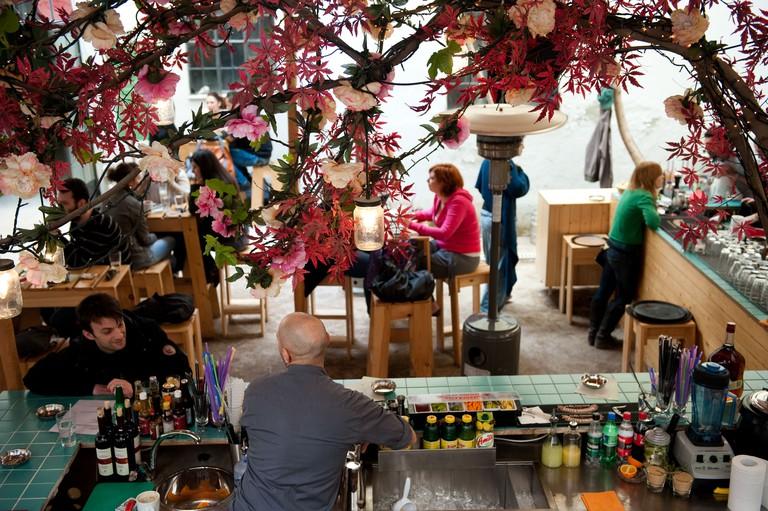 Athens's six d.o.g.s is a club, bar and gallery