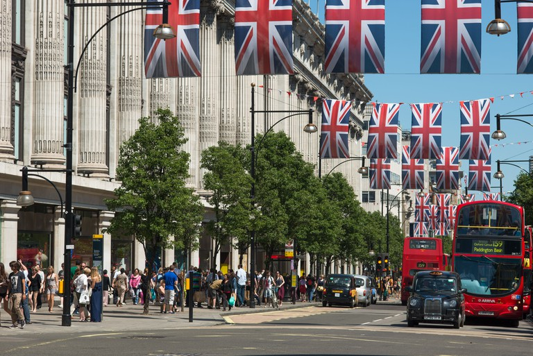 Oxford Street is London's home of retail