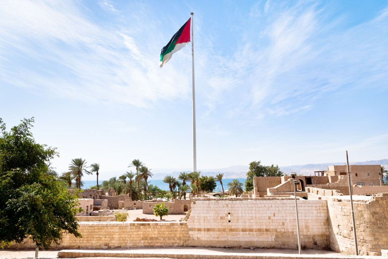 Aqaba Archaeological Museum adjacent to the castle