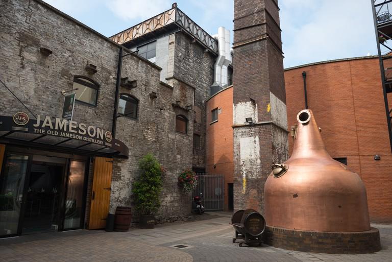 Jameson Whiskey Distillery, Dublin.