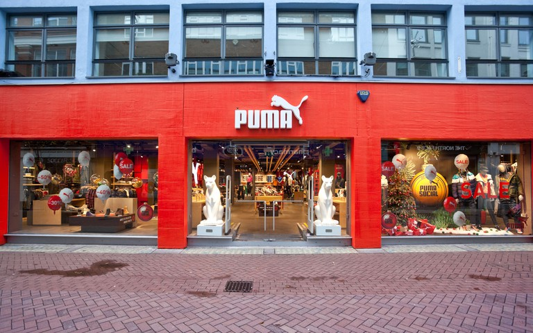 Puma Store, Carnaby Street, London, England, UK