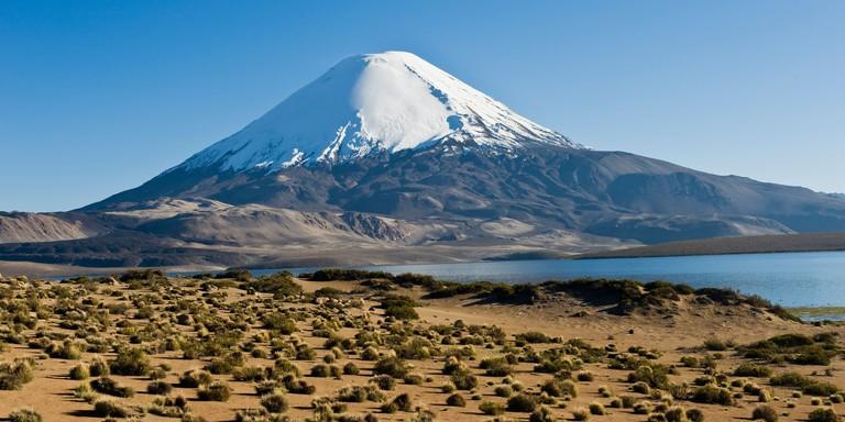 Parinacota volcano, Lauca national park, Chile