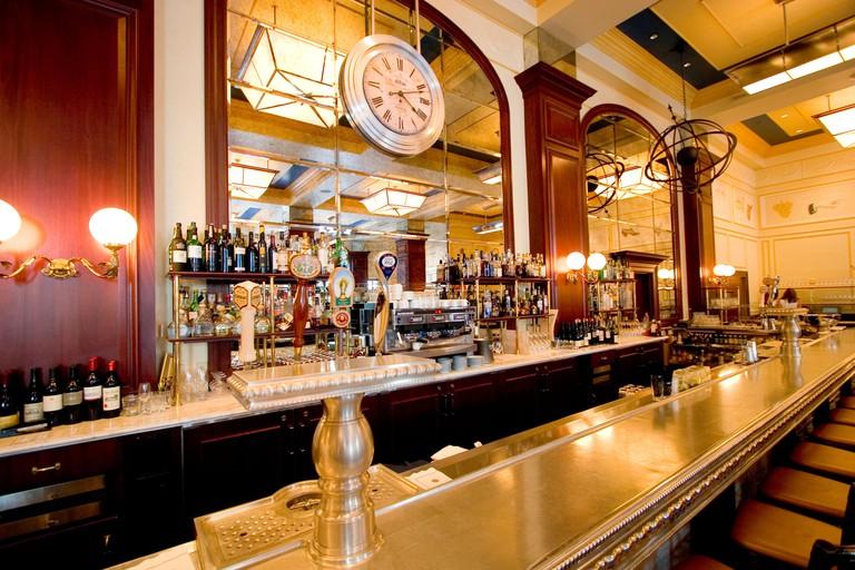 Bouchon restaurant, in the Venezia Tower at the Venetian Resort hotel in Las Vegas, Nevada, USA