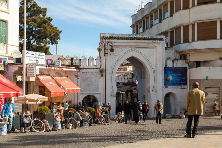 Bab Al Fahs. Ancient gate to Medina.