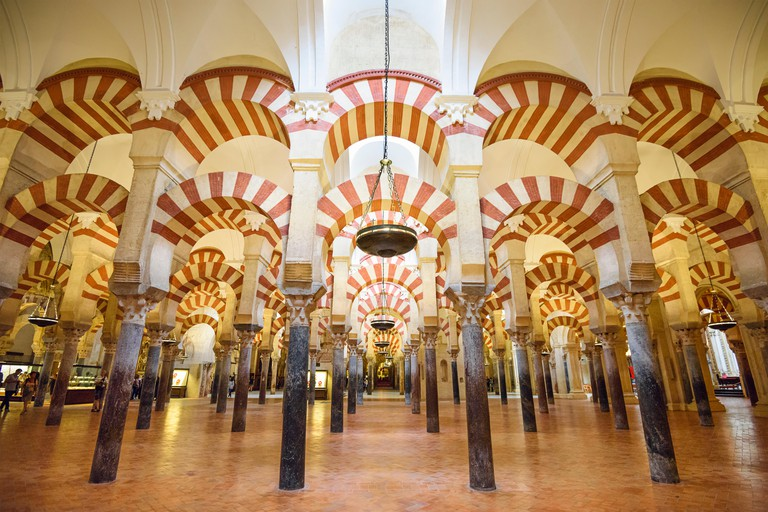 Cordoba, Spain Mosque-Cathedral.