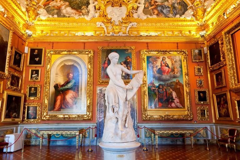 Florence, Palazzo Pitti, Sala di Grove in Galleria Palatina,. Image shot 2018. Exact date unknown.