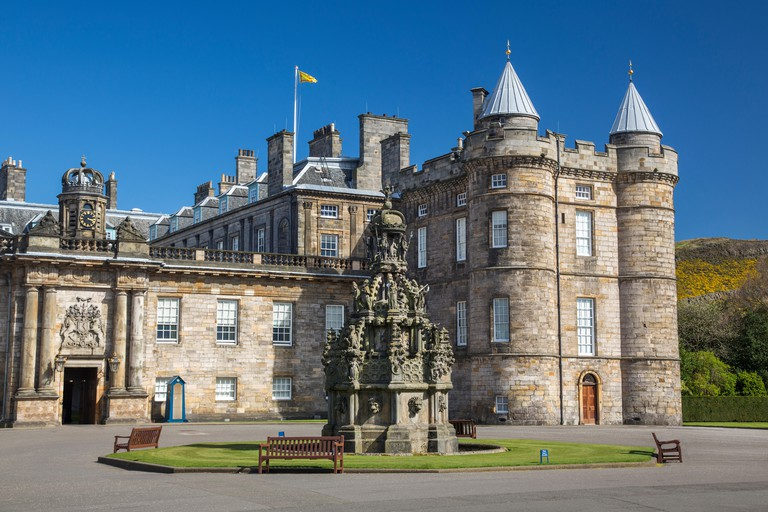Palace of Holyroodhouse is the Queen's official residence in Scotland