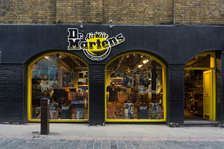 Dr. Martens AirWair shop in Covent Garden, Central London
