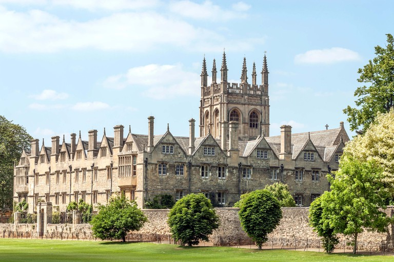 Merton College, one of the constituent colleges of the University of Oxford, Oxfordshire, England
