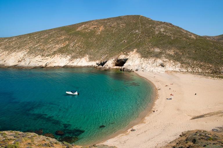 Fokos Beach, Mykonos.