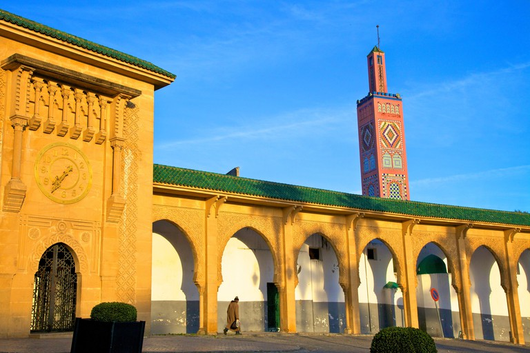 Mosque of Sidi Bou Abib, Grand Socco, Tangier, Morocco, North Africa, Africa
