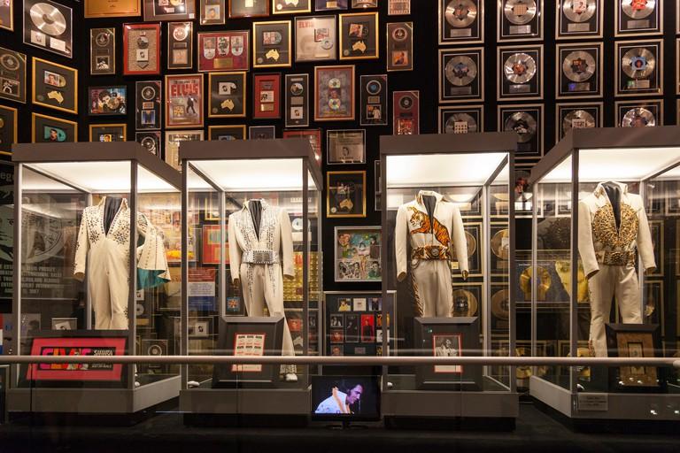 Interior of Elvis Presley's Graceland mansion, Memphis, Tennessee, USA