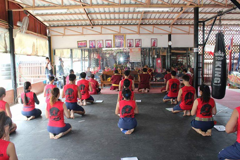 Inside Luktupfah Muay Thai gym