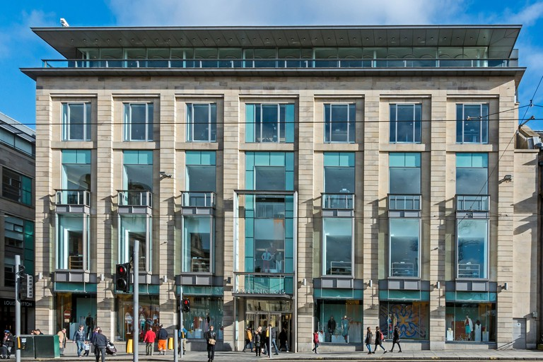 Harvey Nichols store St. Andrew Square Edinburgh Scotland