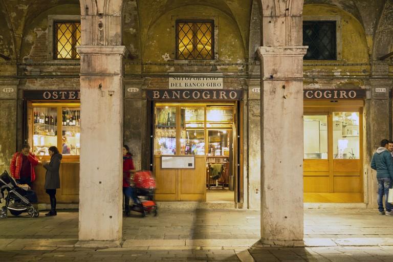 Osteria Bancogiro,Rialto,  Venedig, Italien