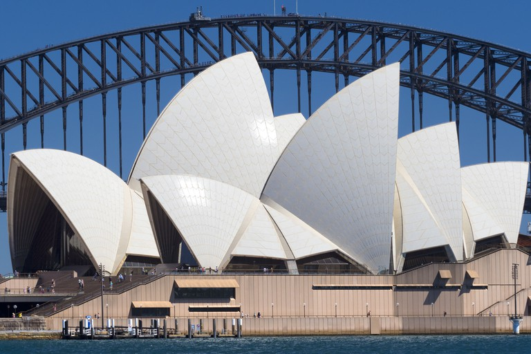 Sydney Harbour Bridge and the Opera House, viewed from Mrs Macquarie's Point 11