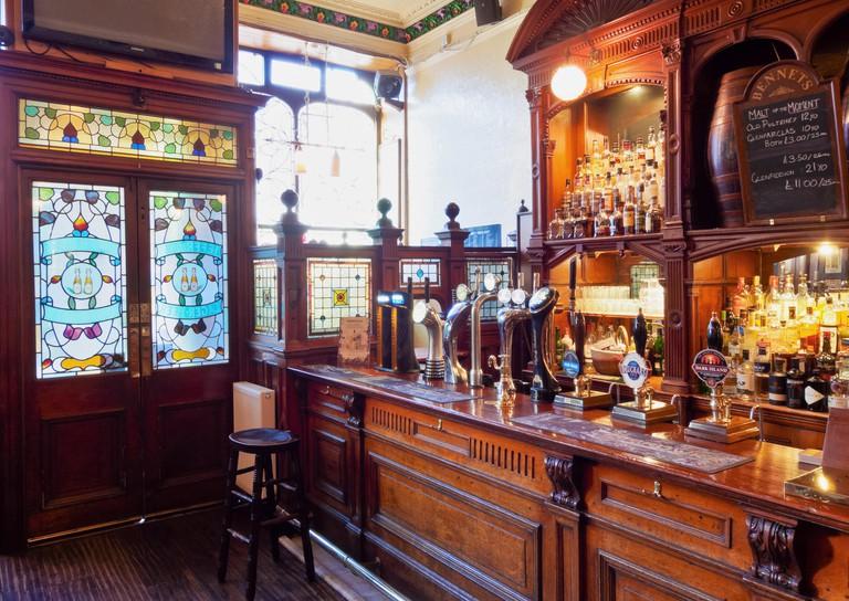 Bennets Bar. Edinburgh.