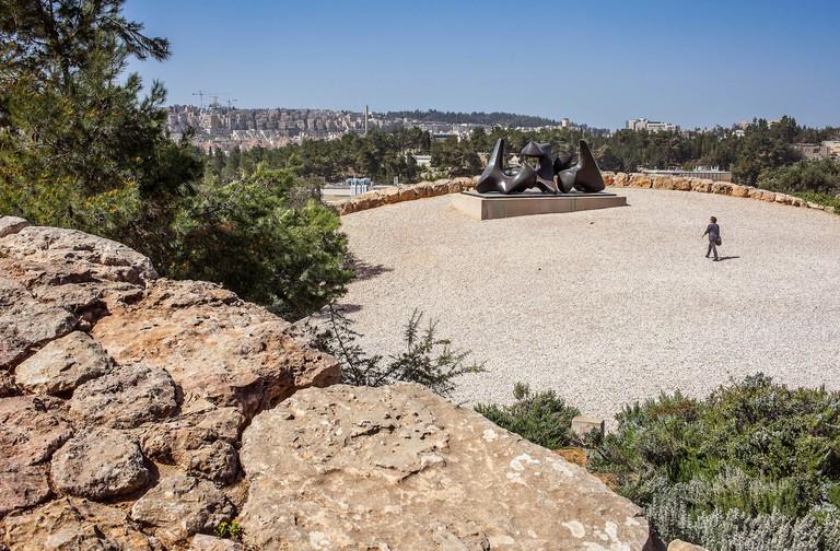 Art Garden at the Israel Museum in Jerusalem