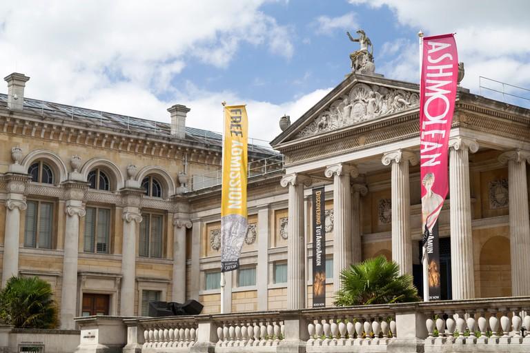 UK, Oxford, the Ashmolean Museum.