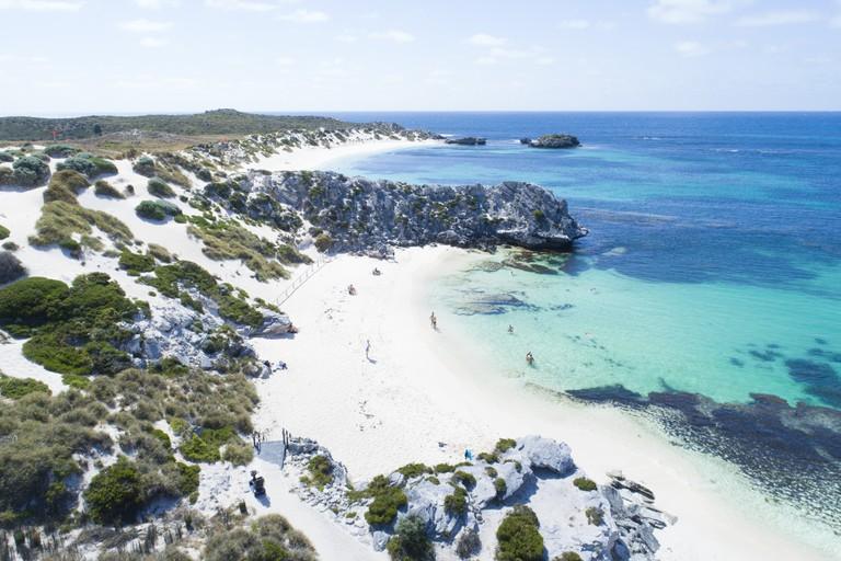 Little Parakeet Bay, Rottnest Island © Tourism Western Australia