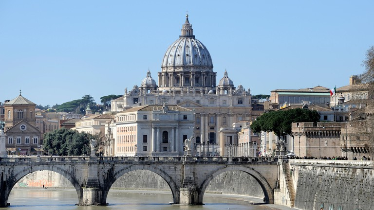 St Peter's Basilica and the Sistine Chapel in Rome, Italy