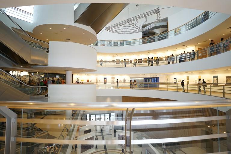 Inside of Bangkok Art and Culture Centre bangkok Thailand 6 October2018