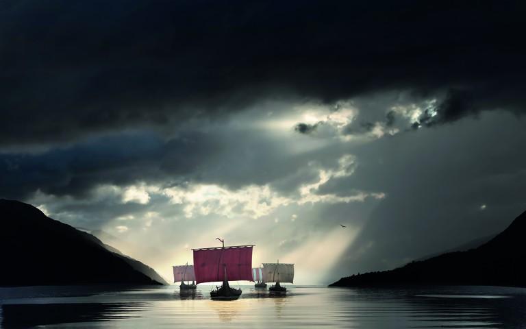 Sagastad Vikingship