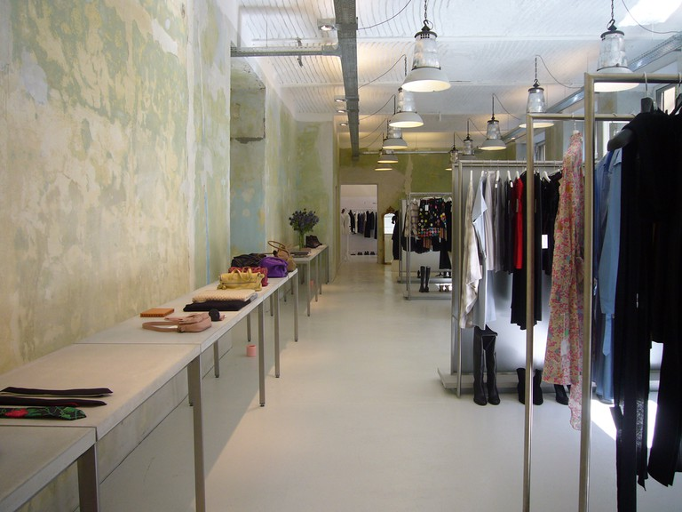 Song shop interior
