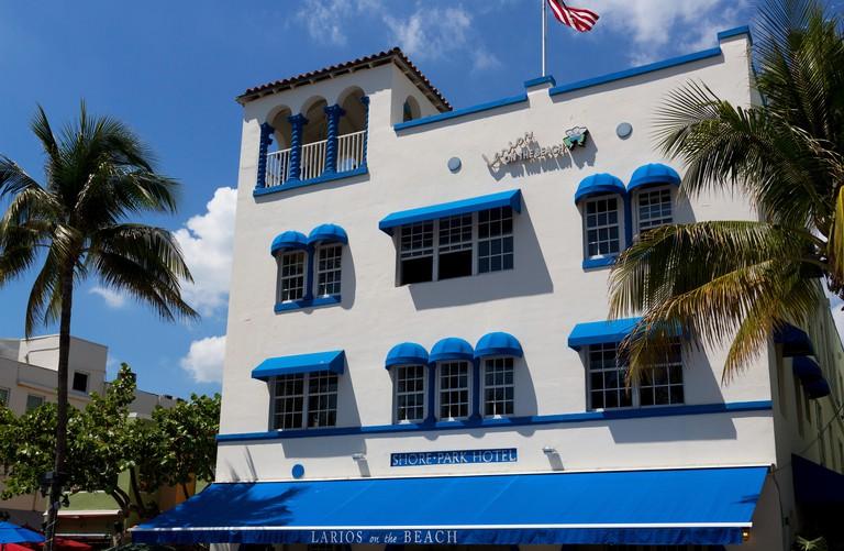 Larios on the Beach on Ocean Drive, South Beach, Miami.