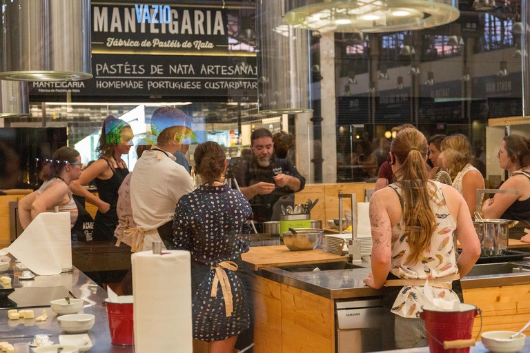 Manteigaria bakery in the Time Out market in Cais do Sodré