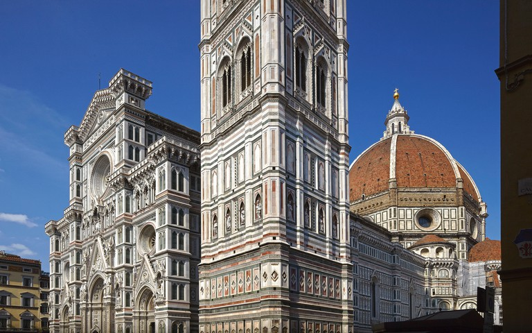 Giotto's bell tower and Brunelleschi's dome, Florence.