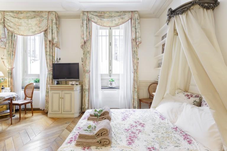 Marie Antoinette style boudoir